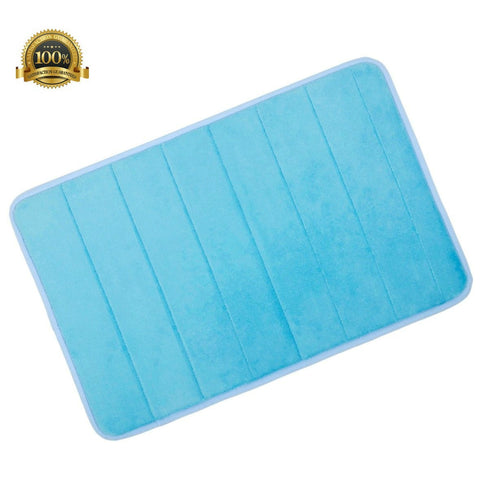Quiesta Soft Memory Foam Bathroom Mat, Non Slip Bath Mat