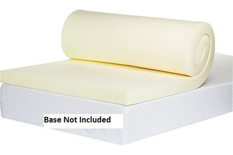 Double Memory Foam Mattress Topper