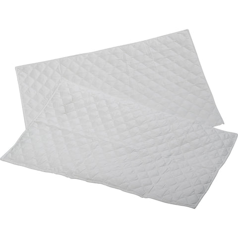 Microfibre Soft Quilted Pillow Protector Pair, White