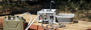 Camping Hot Water Systems - Portable Camping Sinks & Showers