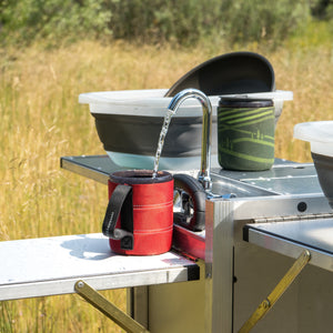 portable camping sink with the best water pressure
