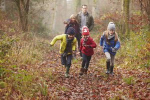 Autumn Themed Camping Activities