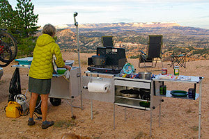Space Saving Camp Kitchen Equipment