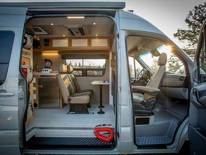 Mercedes Van Camper >> Best Campervan Conversion Companies In 2019 Trail Kitchens