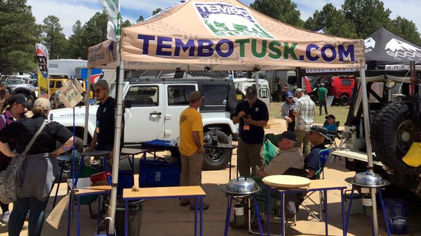 tembo tusk skottle grills for overland cooking