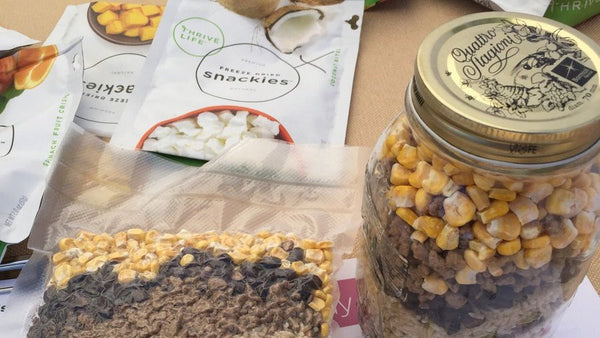 thrive life dehydrated food for outdoor adventures and off-grid camping pre packaged for overland expo