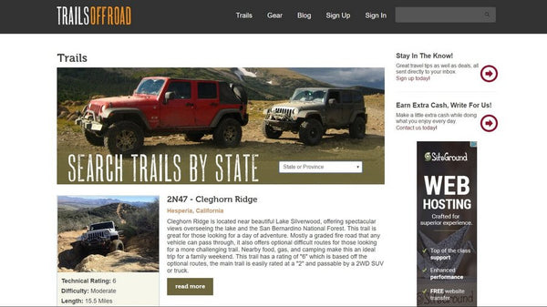 trails offroad website for 4x4 trails online directory for overlanders