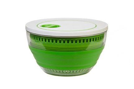 4 Qt. Salad Spinner - 3 items in one-Space Saving Kitchen Products-Trail Kitchens