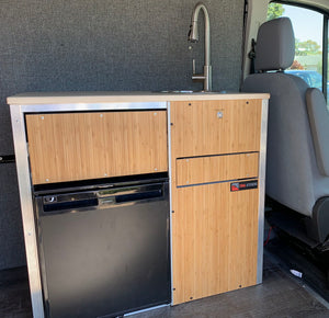 Campervan Kitchen pod with fridge