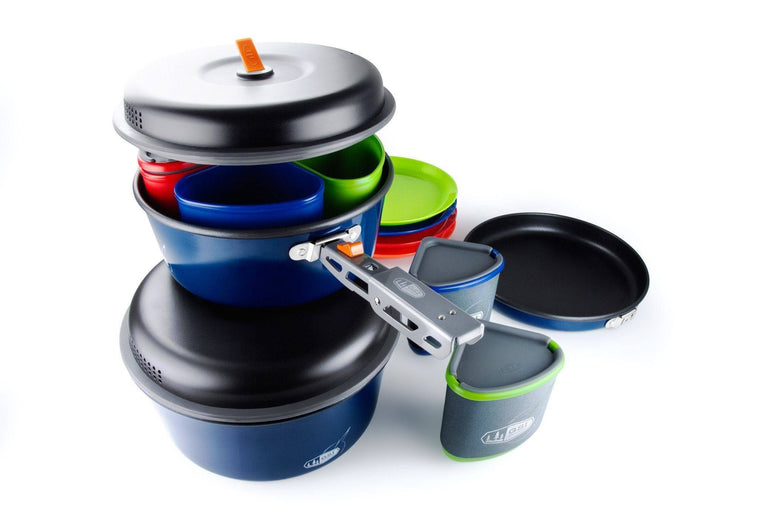 Bugaboo Camper - Pots and Dining Set ( 3l & 2l pots)-Cooking Equipment-Trail Kitchens