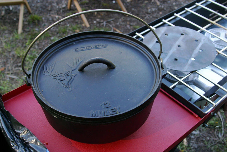 "Camp Chef 12"" Classic Dutch Oven-Cooking Equipment-Trail Kitchens"