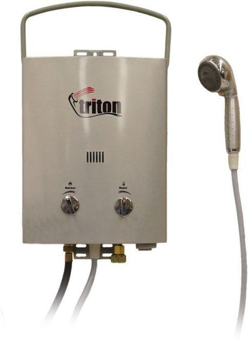 Camp Chef Portable Water Heater U0026 Shower (Triton 5L) Portable Hot Water  Systems ...