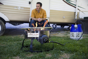 Compact Fire Ring - Propane-Camp Stoves-Trail Kitchens