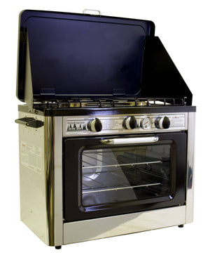 Camp Chef Deluxe Outdoor Oven camping cooking gear