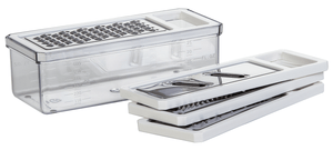 Grater Set - Nesting Unit with 4 inserts-Cooking Equipment-Trail Kitchens