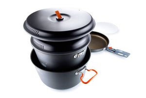 GSI Outdoors: Pinnacle Base Camper Large camping kitchenware