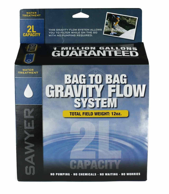 Sawyer 2 Liter Water Filtration System-Water filtration and Storage-Trail Kitchens