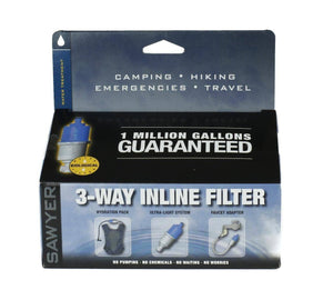 Sawyer Products: 3-Way Water Filter camping hydration product