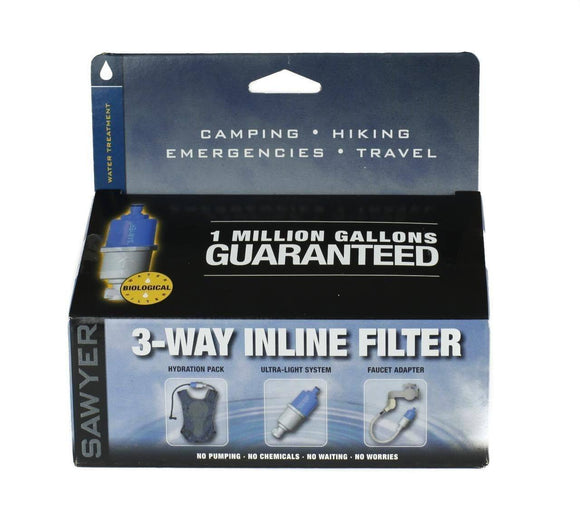 Sawyer 3 way Water Filter-Water filtration and Storage-Trail Kitchens