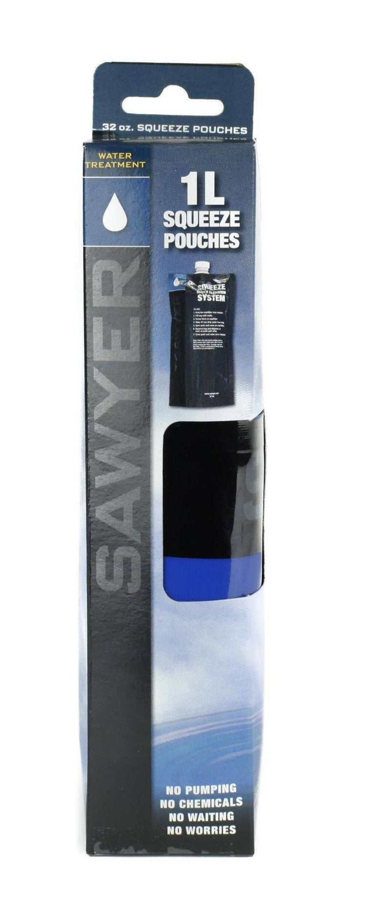 Sawyer 32 oz. Squeezable Pouch - Set of 3-Water filtration and Storage-Trail Kitchens