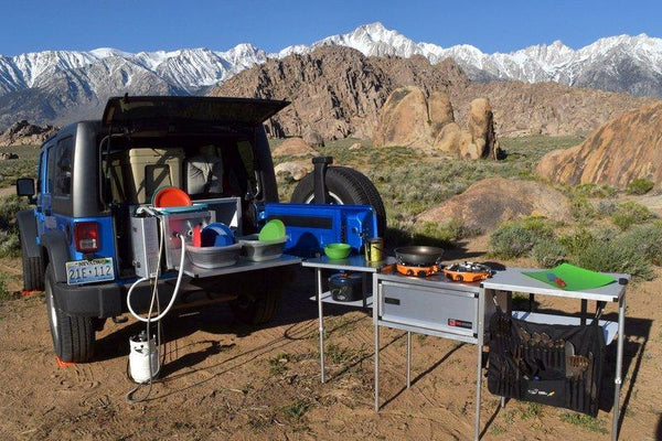 Jeep Camping Kitchen Slide Out Kitchen For Overlanding