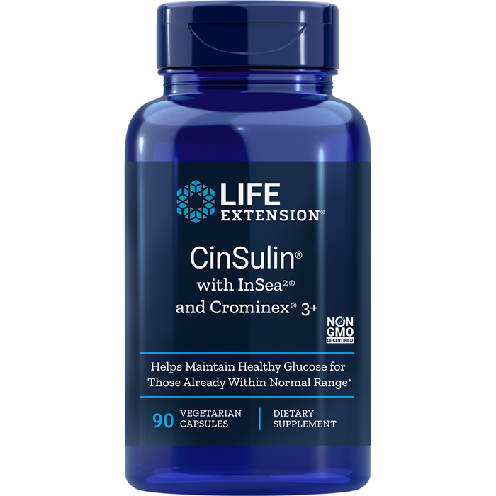 CinSulin with InSea2 and Crominex 3+ (90 Capsules)