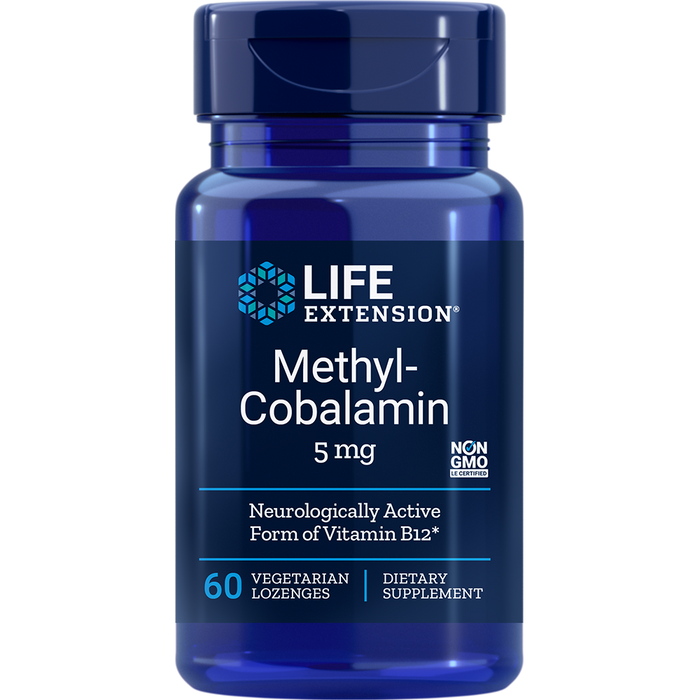 Methylcobalamin (Vitamin B12) 5 mg (60 Lozenges)