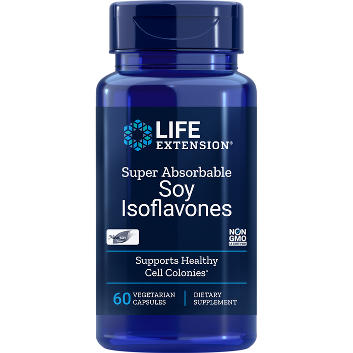 Super Absorbable Soy Isoflavones (60 Capsules)