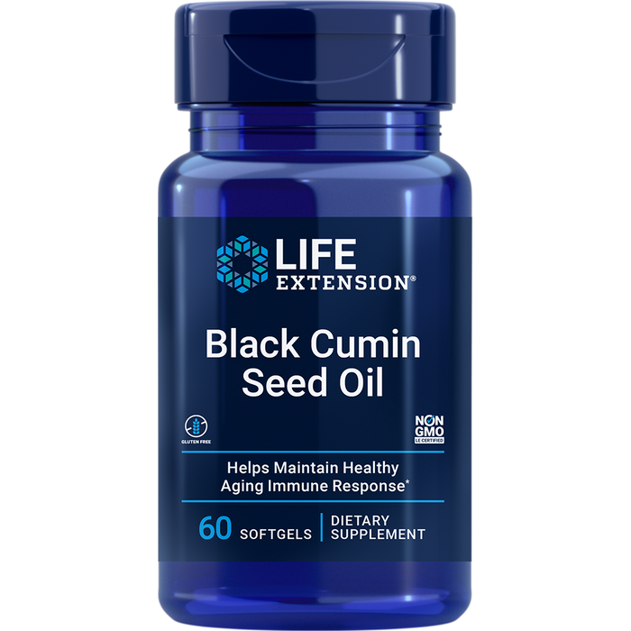 Black Cumin Seed Oil (60 Softgels) (NO CURCUMIN)