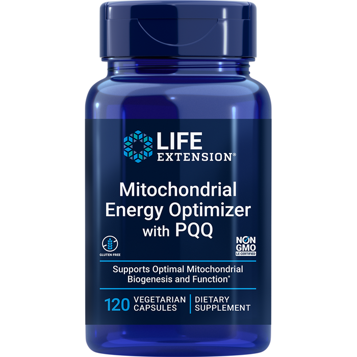 Mitochondrial Energy Optimizer with BioPQQ (120 Capsules)
