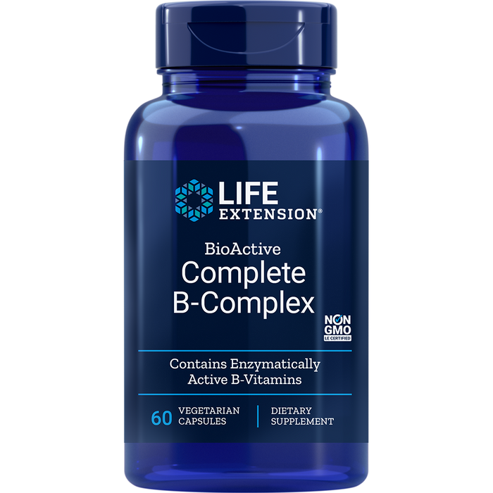 BioActive Complete B-Complex (60 Capsules)