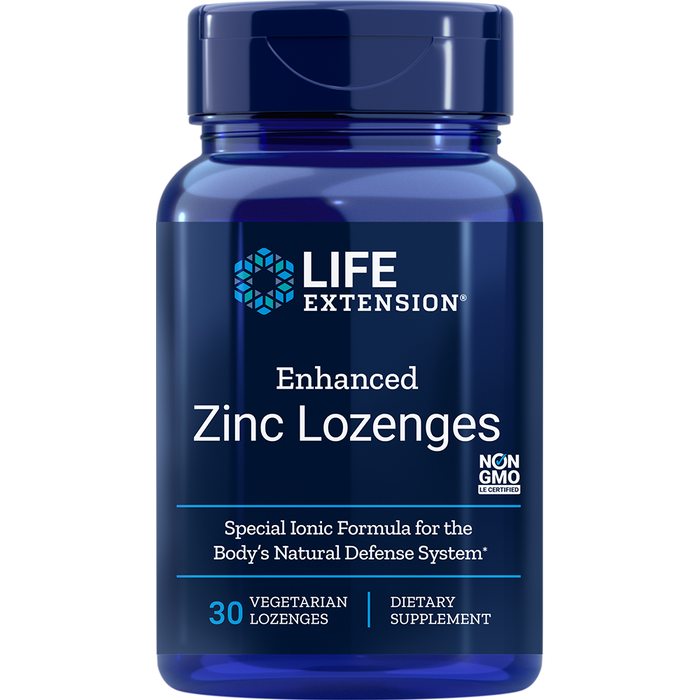 Enhanced Zinc Lozenges (Peppermint) (30 Lozenges)