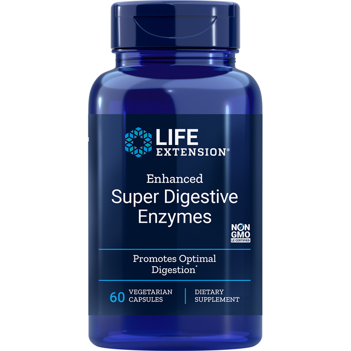 Enhanced Super Digestive Enzymes (60 Capsules)