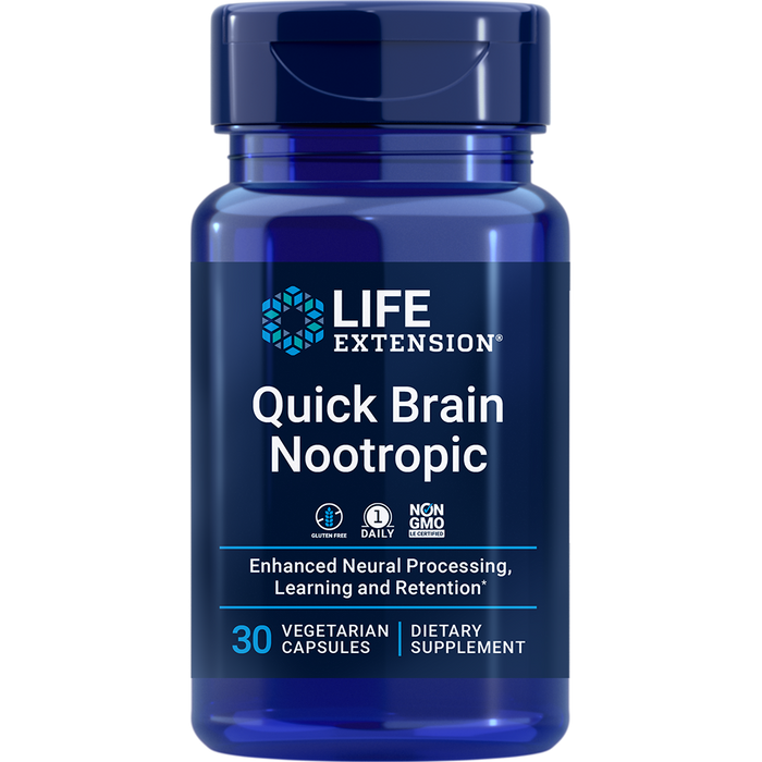 Quick Brain Nootropic (30 Capsules)