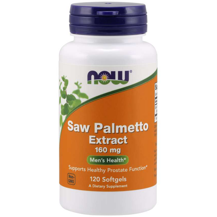 Saw Palmetto Extract (160 mg) (120 Softgels)