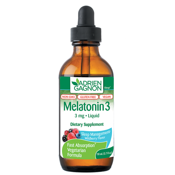 Adrien Gagnon Liquid Melatonin (3 mg) (3.7 fl oz)