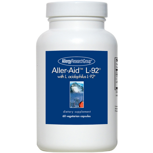 Allergy Research Aller-Aid L-92 with L. acidophilus L-92 (60 Capsules)