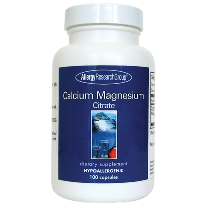 Allergy Research Calcium Magnesium Citrate