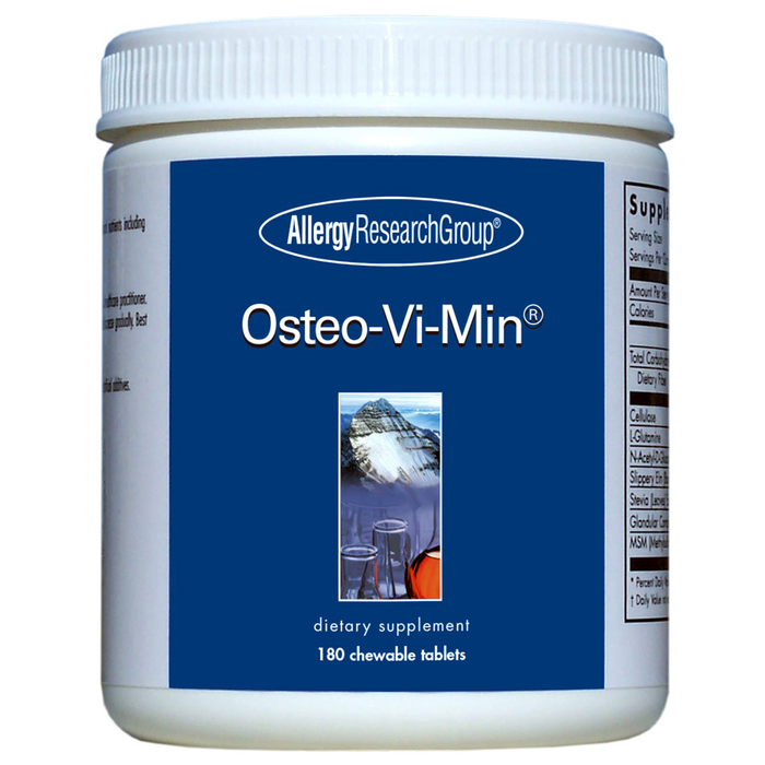 Allergy Research Group Osteo-Vi-Min (180 Chewable Tablets)