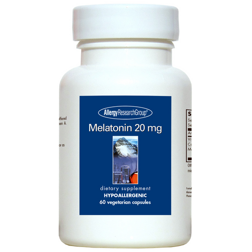 Allergy Research Melatonin 20 mg (60 Capsules)
