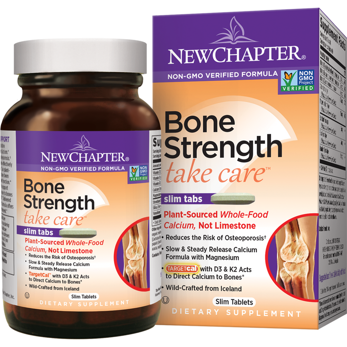 NewChapter Bone Strength Take Care (120 Tablets)