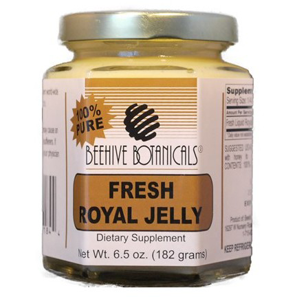 Fresh Royal Jelly, 100% Pure (6.5 oz)