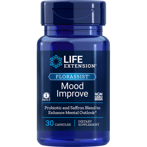 Life Extension FlorAssist Mood Improve (60 Capsules)