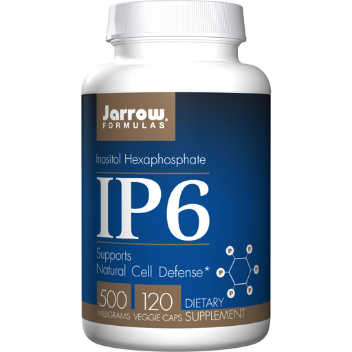 Jarrow IP6 (500 mg) (Inositol Hexaphosphate)  (120 Capsules)