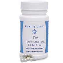 Klaire Labs LDA Trace Mineral Complex