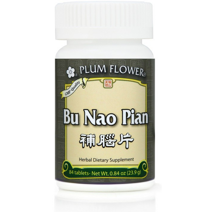Plum Flower Bu Nao Pian (84 Tablets)