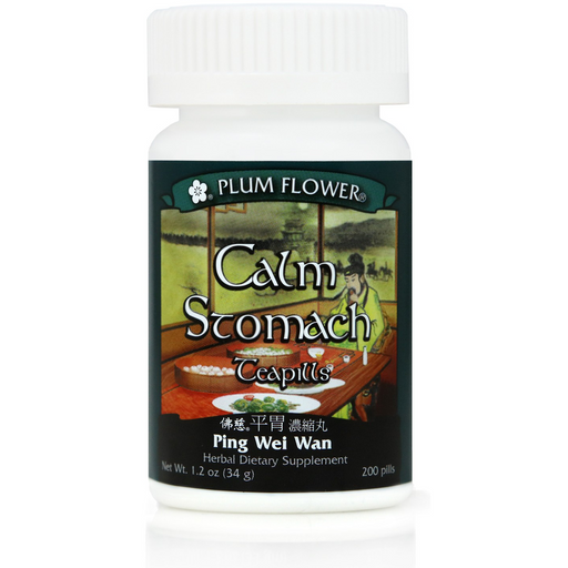 Plum Flower Calm Stomach Teapills (Ping Wei Wan) (200 Pills)