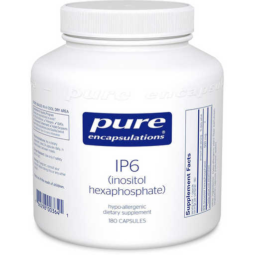 Pure Encapsulations IP6 (500 mg) (Inositol Hexaphosphate) (180 Capsules)
