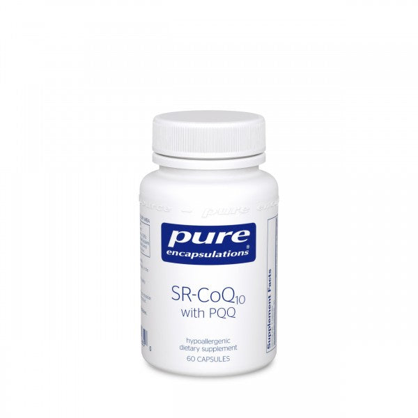 Pure Encapsulations SR-CoQ10 with PQQ (60 Capsules)