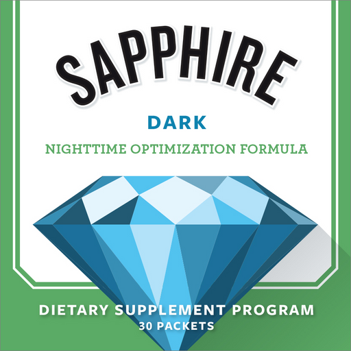Sapphire Dark Nighttime Optimization Formula (30 Packets)